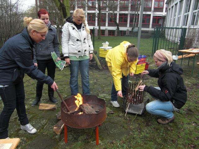 Thementag zum Element Feuer